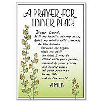 a prayer for inner