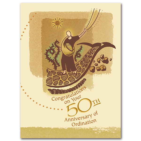 Congratulations On Your 50th Anniversary Of Ordination