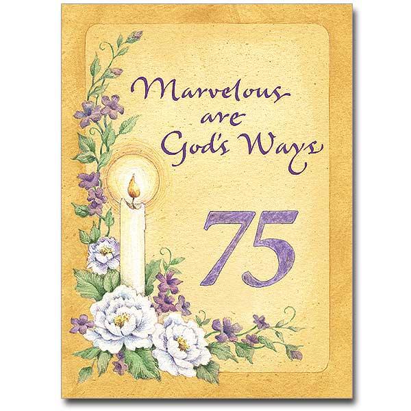 Marvelous Are Gods Ways Religious Profession Anniversary
