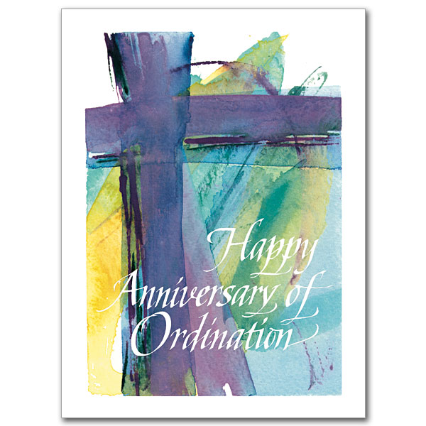 Happy Anniversary Of Ordination Ordination Anniversary Card