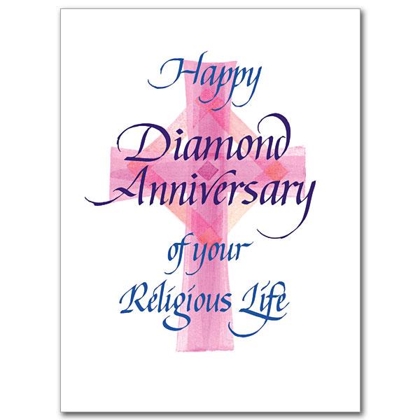 Happy Diamond Anniversary Religious Profession