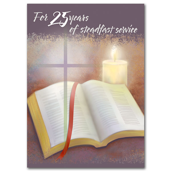 For 25 Years Of Steadfast Service 25th Ordination