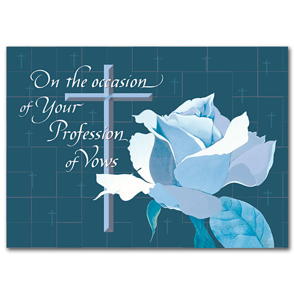 On The Occasion Of Profession Religious Profession