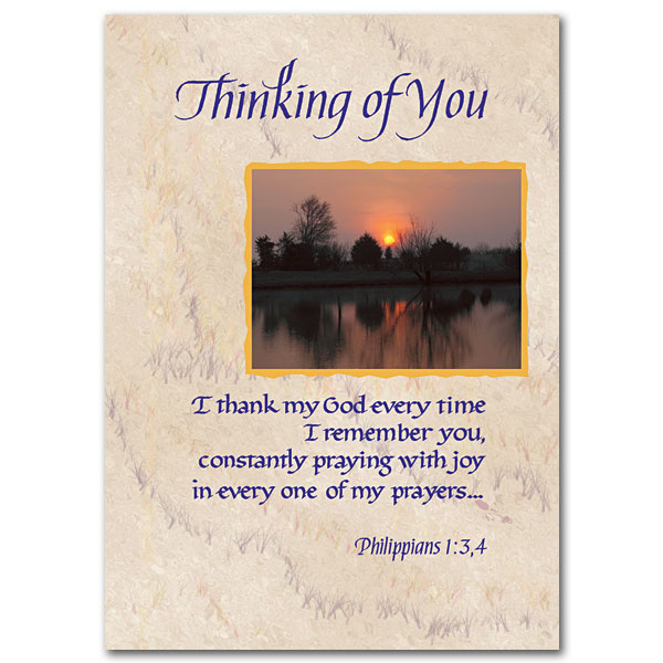 Thinking Of You Thinking Of You Card