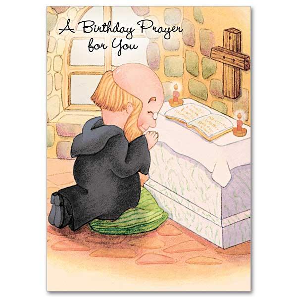 A Birthday Prayer For You Brother Christopher Birthday Card