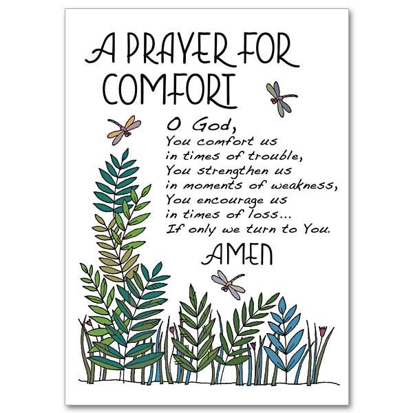 a prayer for comfort