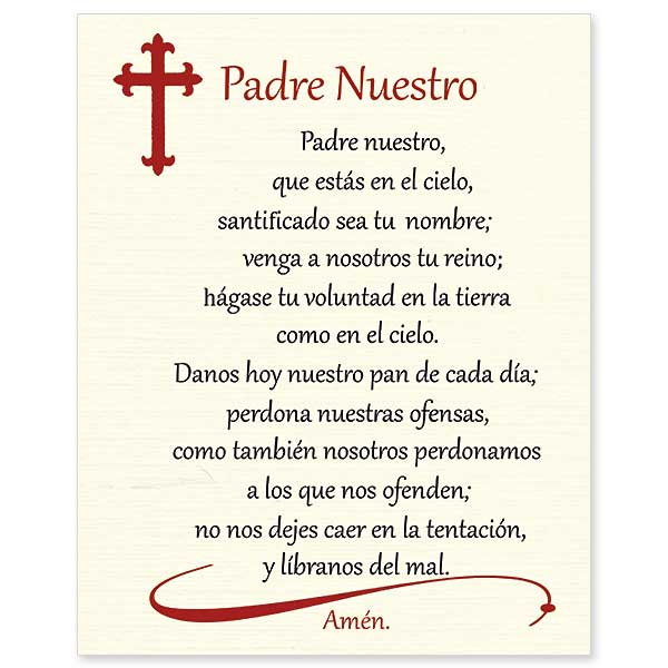 padre nuestro our father