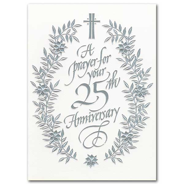A Prayer for Your 25th Anniversary: 25th Wedding