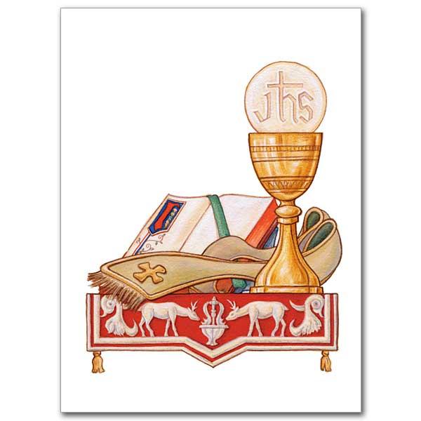 Sacramental Symbols Ordination Invitations
