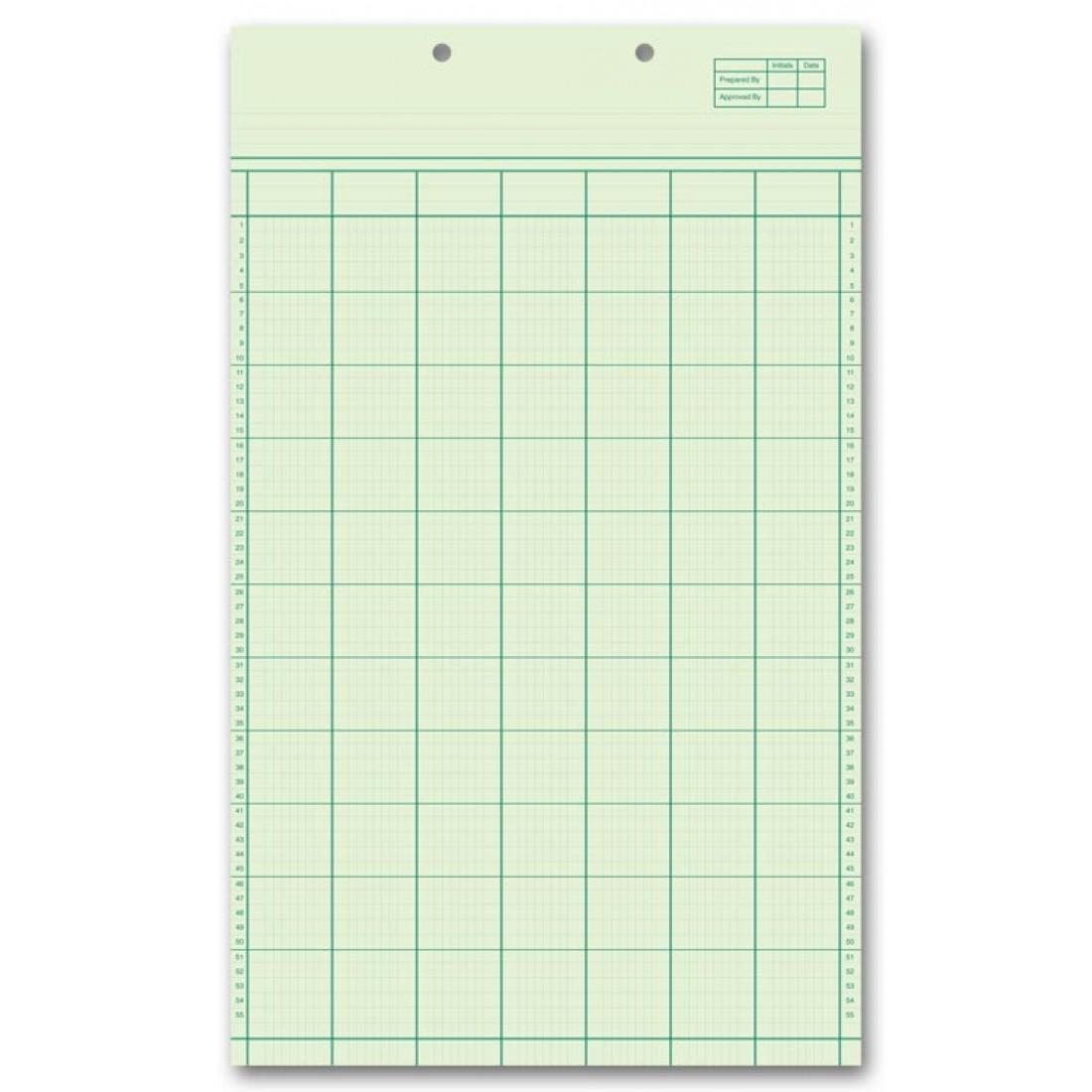 Legal Size Columnar Work Sheets At Print Ez