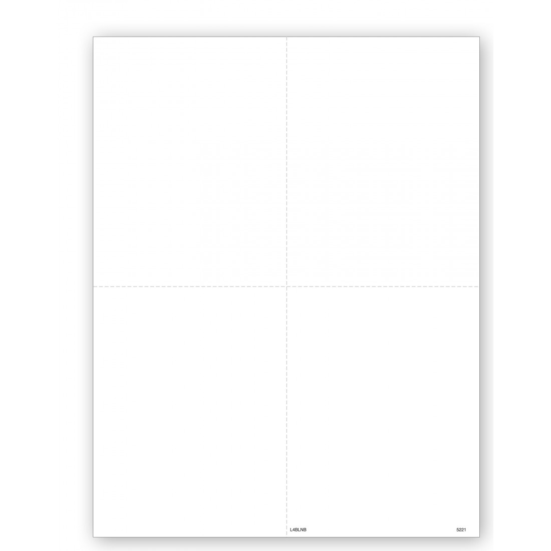 Tax Forms W 2 4 Up Blank