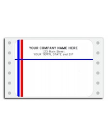 Pin Fed Mailing Labels: Blank Pin Feed Mailing Labels