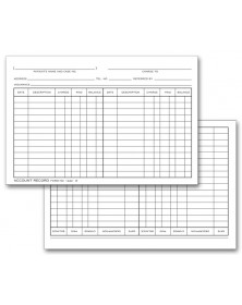 Register Forms: Classic Register Forms, Imprinted Check