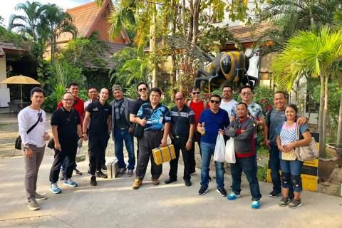Di Awal Tahun 2019, PT Modern Data Solusi Kembali Ajak Customer Kunjungi Factory Ricoh & CEC Thailand