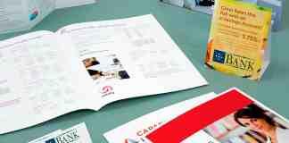Marketing materials. Tri fold brochures, postcards, business cards, saddle stitched booklets.
