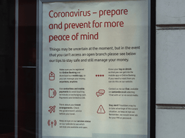 Poster of how ot be prepared and prevent coronavirus spread
