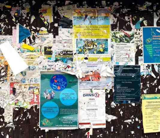 Wall of effective flyers