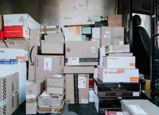 shipping box sizes