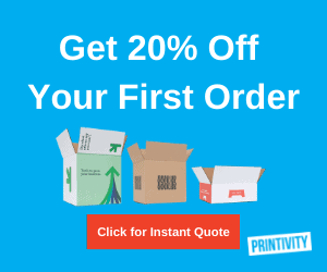 Get 20% off your first order at Printivity sidebar ad