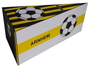 voetbal taartpunten