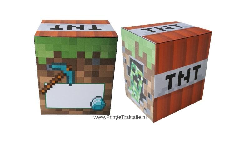 Minecraft doosje