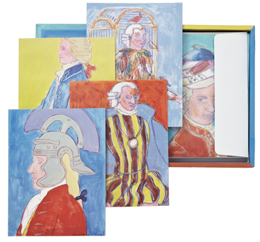 Mozart greeting cards