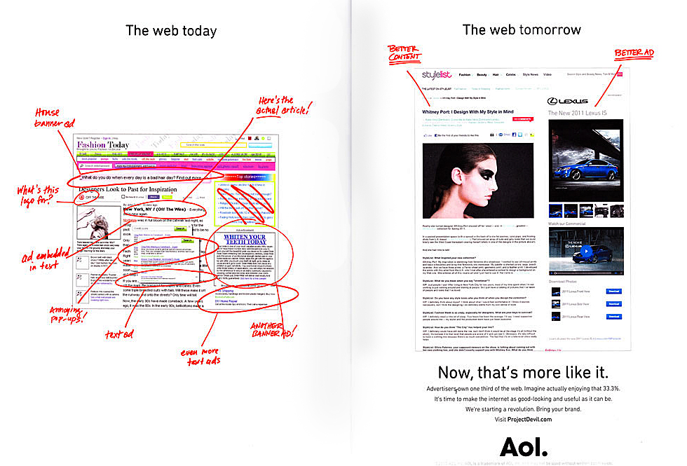 Thumbnail for Will AOL's Project Devil Change the Whole Look of the Web?