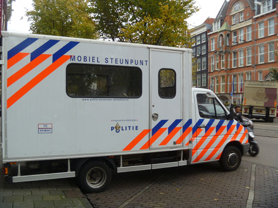 Thumbnail for Design Classics: The Dutch Police Identity and Striping
