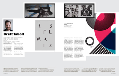 April 2011 / Spread by guest art directors Counterspace