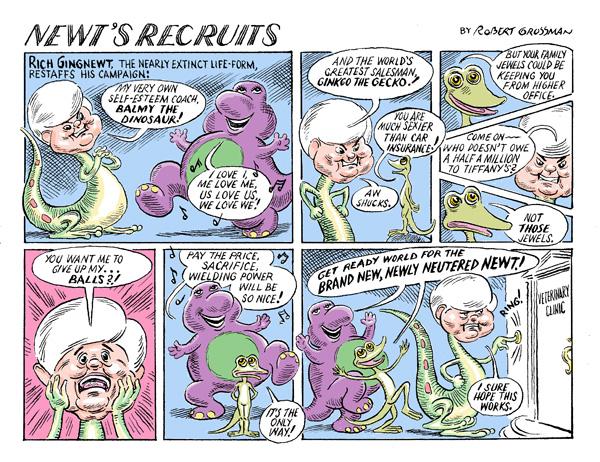 Thumbnail for Robert Grossman: Newt's Recruits