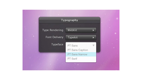 Thumbnail for Today's Obsession: Web Fonts + Desktop Fonts?