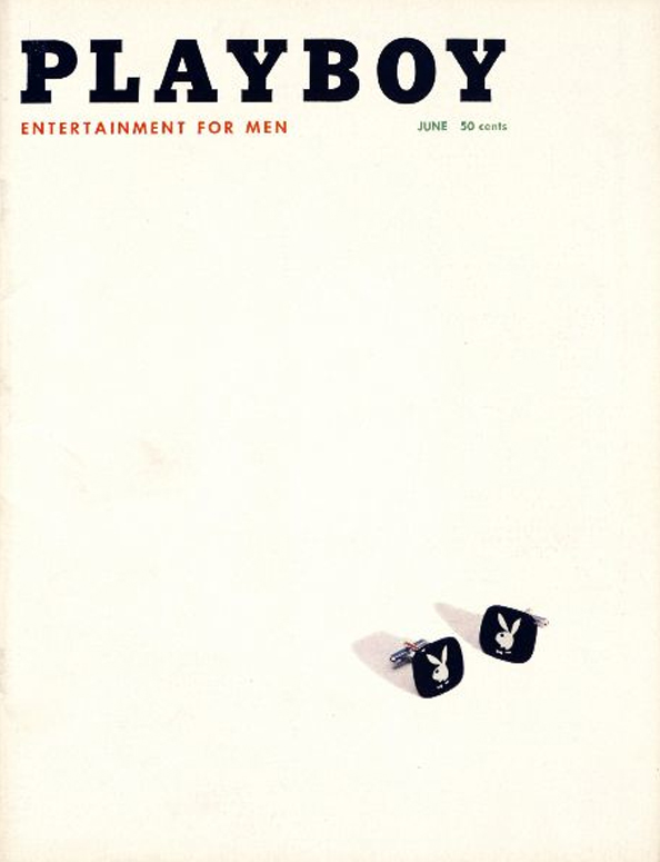 Playboy's June 1957 Cover.