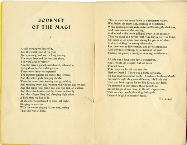 Thumbnail for E. McKnight Kauffer's Gift of the Magi
