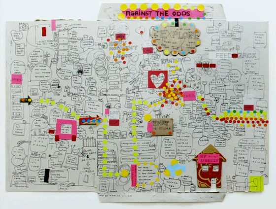 Mind Map by Marina Willer / Wolff Olins