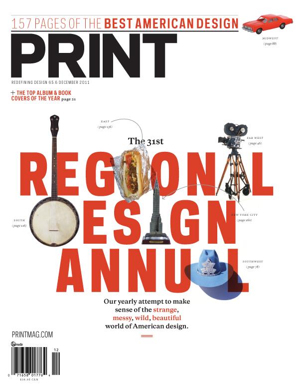 Thumbnail for Print's December 2011 Issue