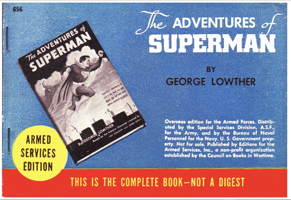 The Adventures of Superman ad