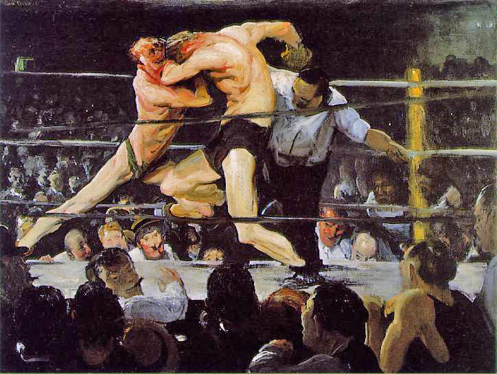 George Bellows boxing