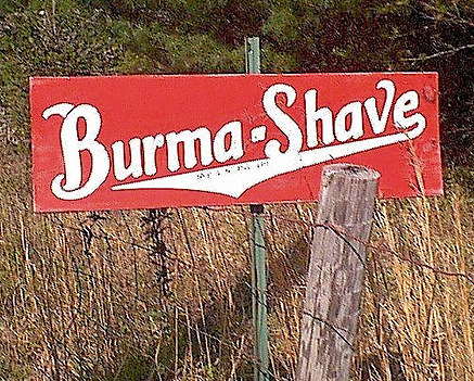 Thumbnail for The Motion-Graphic Ads Of Burma-Shave: 1927-1963