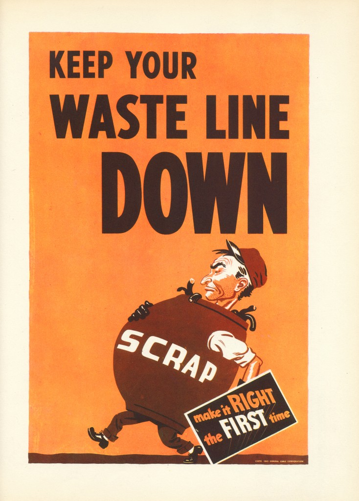 Keep your waste line down