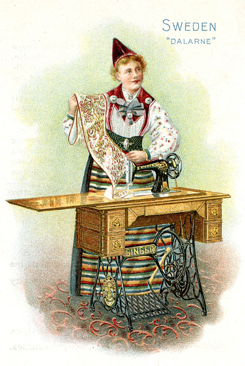 Thumbnail for Singer Sewing Machine's World, 1892