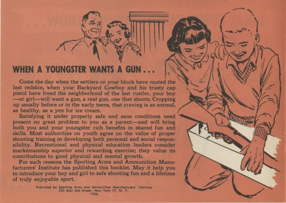 What Every Parent Should Know . . . When a Boy or Girl Wants a Gun