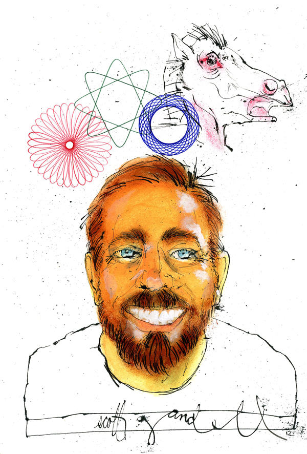 Thumbnail for Illustrator and Entrepreneur Scott Gandell on the Tools of His Trades