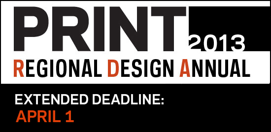 Thumbnail for Deadline Approaching! Reminder to Enter the 2013 Regional Design Annual