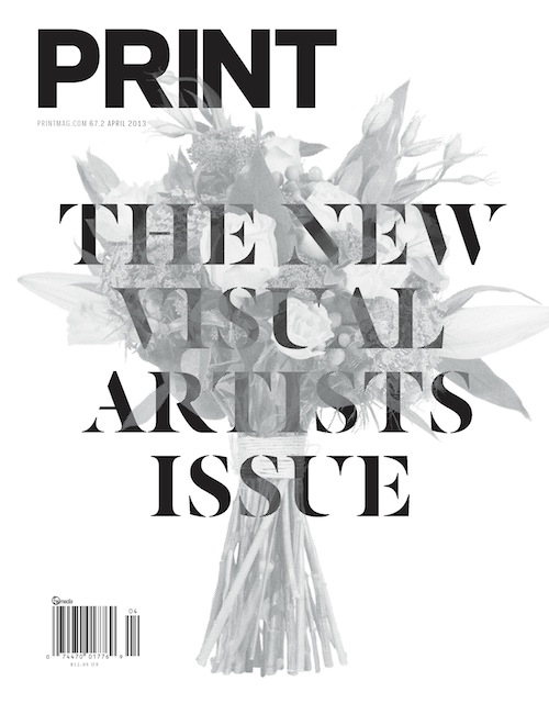 Thumbnail for Print's April 2013 Issue
