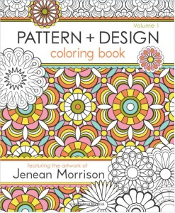 Pattern and Design Coloring Book (Vol 1) by Jenean Morrison, $10.80