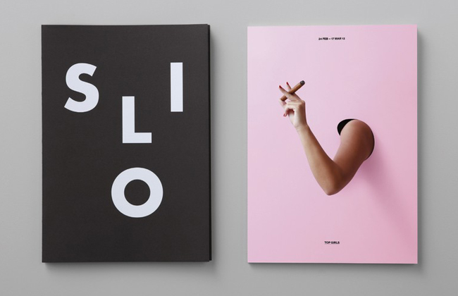 Strong identity design by New Zealand's Alt Group for the Silo Theatre.