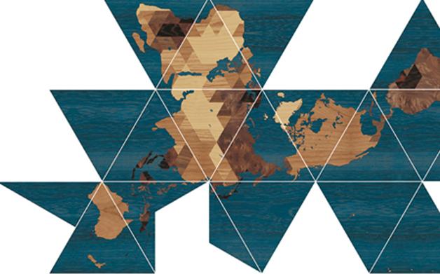Thumbnail for Image of the Day, 08.09.2013: Buckminster Fuller map