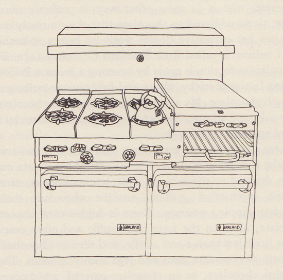 Garland Stove in the City and Country School Kitchen by Anna Shapiro