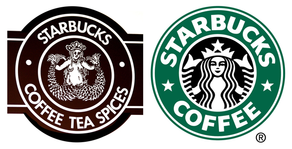 Starbucks marks from 1971 and 1992.