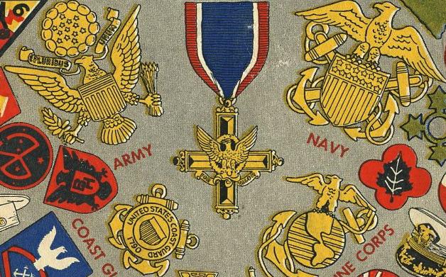 "Thumbnail for Vintage Military Design: ""United States Service Symbols"""